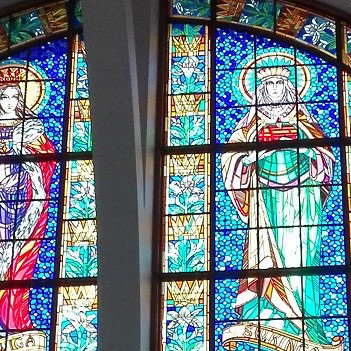 witraże kościelne zdjęcia, witraże sakralne zdjęcia