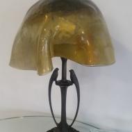 Lampa ze szkla fusing