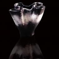 szklo-fusingowe-artystyczne-wazon-czarno-bialy-1