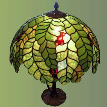 Lampy witrażowe