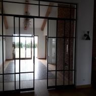 drzwi lofotowe przeszklenia loftowe 1