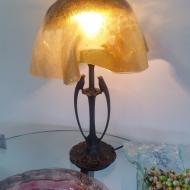 Lampa szklana fusing
